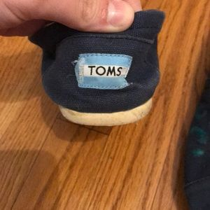 Toms Shoes - Painted Toms! Size 9.5 SFH